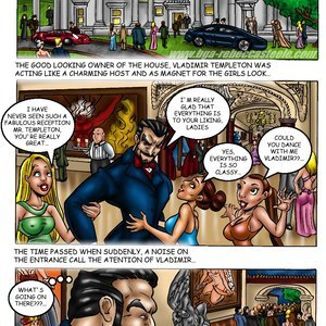 Bad Girls Art Comics Rebeca Steele - The Bloodiest Night gallery image-002