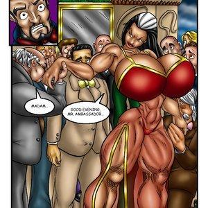 Bad Girls Art Comics Rebeca Steele - The Bloodiest Night gallery image-003