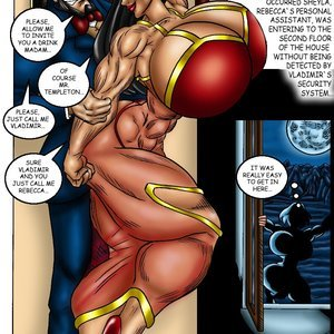 Bad Girls Art Comics Rebeca Steele - The Bloodiest Night gallery image-005
