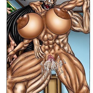 Bad Girls Art Comics Rebeca Steele - The Bloodiest Night gallery image-012