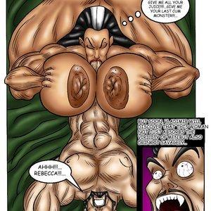 Bad Girls Art Comics Rebeca Steele - The Bloodiest Night gallery image-019