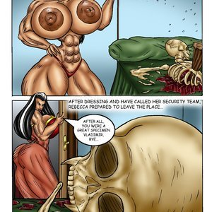 Bad Girls Art Comics Rebeca Steele - The Bloodiest Night gallery image-025