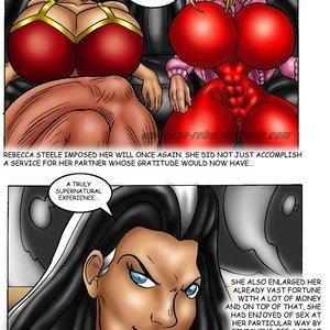 Bad Girls Art Comics Rebeca Steele - The Bloodiest Night gallery image-027