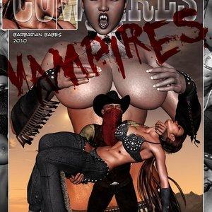 Cowgirls & Vampires BarbarianBabes Comics