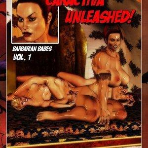Saga of Caractiva BarbarianBabes Comics