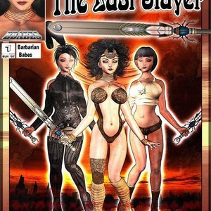 The Last Slayer BarbarianBabes Comics