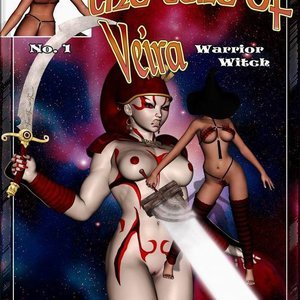 The Tale of Veira – Warrior Witch (BarbarianBabes Comics) thumbnail