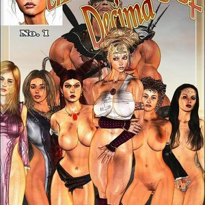 The Taming of Decima (BarbarianBabes Comics) thumbnail