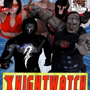 Knightwatch - Issue 1 comic 001 image