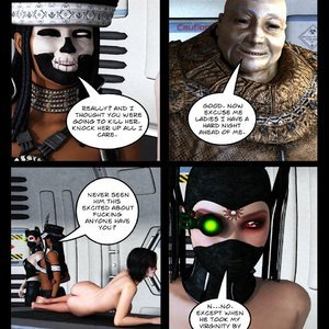 Knightwatch - Issue 8 comic 001 image