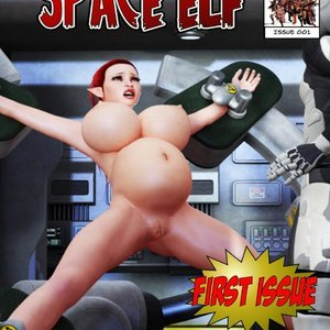 Space Elf - Issue 1 comic 001 image