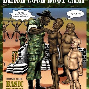 Black Cock Boot Camp Blacknwhite Comics