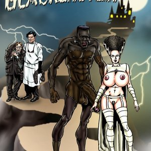 Bride of Blackenstein Blacknwhite Comics