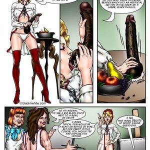 Blacknwhite Comics Cuckold College - Issue 2 gallery image-005