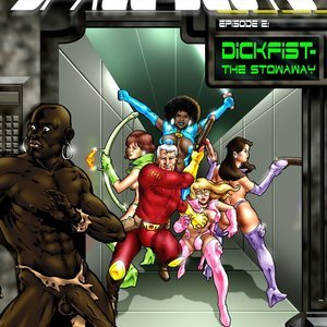 Interracial Space Sluts – Issue 2 Blacknwhite Comics