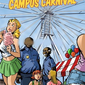 Campus Police – Issue 2 Blacknwhitecomics Comix