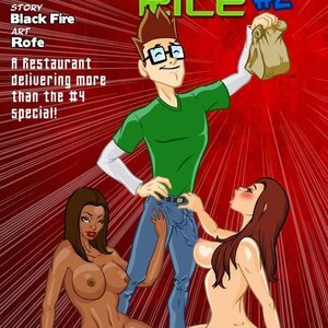 Shrimp Fried Rice – Issue 2 Blacknwhitecomics Comix