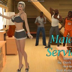 Maid Service Blacknwhitecomics Comix