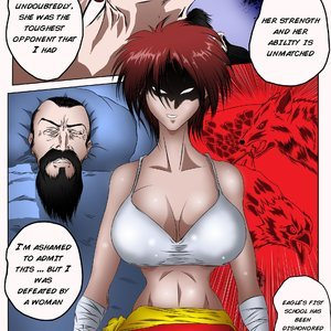 Scarlet Fox Bleedor Comics