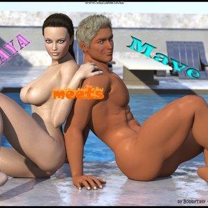 When Maya Meets Mave Bobby Tally Comics