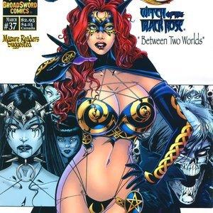 Tarot – Witch of the Black Rose 037 (BroadSword Comics) thumbnail