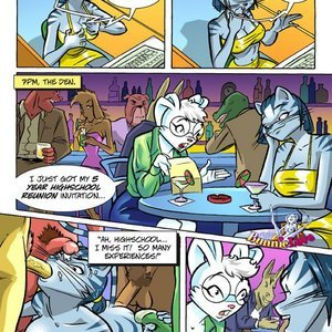Burnt Toast Media Comics Bunnie Love 6 - Old flames die hard gallery image-012