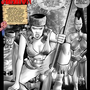 Captain Sharon (Cagri Comics) thumbnail