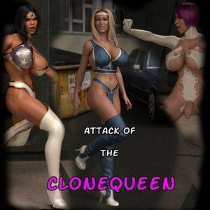 Attack of the Clonequeen comic 001 image
