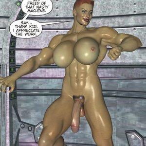 Captured-Heroines Comics Good Intentions gallery image-006