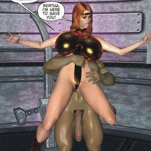 Captured-Heroines Comics Good Intentions gallery image-007
