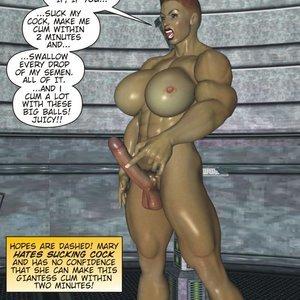 Captured-Heroines Comics Good Intentions gallery image-014