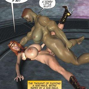 Captured-Heroines Comics Good Intentions gallery image-023