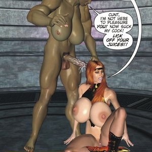 Captured-Heroines Comics Good Intentions gallery image-026