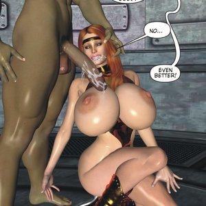 Captured-Heroines Comics Good Intentions gallery image-028
