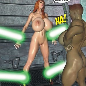 Captured-Heroines Comics Good Intentions gallery image-029