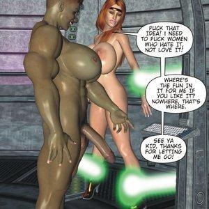 Captured-Heroines Comics Good Intentions gallery image-030