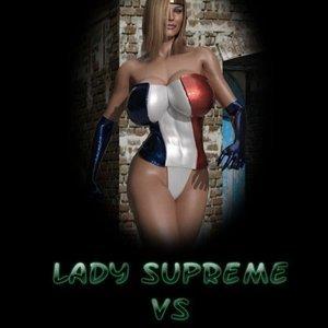 Lady Supreme vs The Gardener comic 001 image