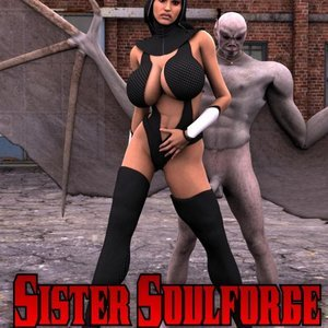 Sister Soulforge Captured-Heroines Comics