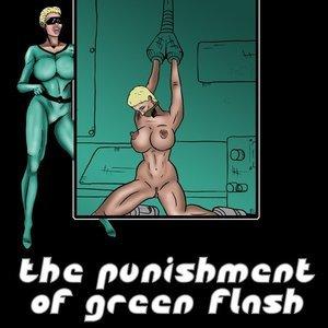 The Punishment of Green Flash comic 001 image