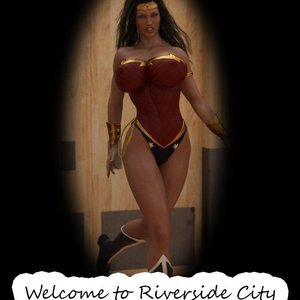 Wonda Woman – Welcome to Riverside City Captured-Heroines Comics