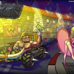 Super Mario Bros Sexy Comics