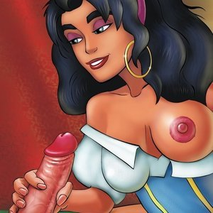 The Hunchback of Notre-Dame adult comics