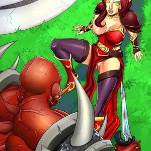 World of Warcraft Nude Comics