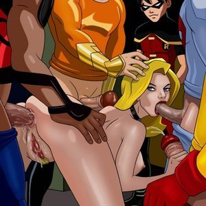 Cartoon Reality Comics Young Justice gallery image-033
