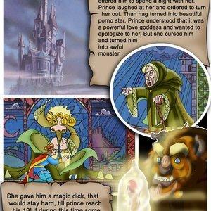 Beauty Under the Beast Cartoon Valley