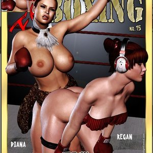 Foxy Boxing – Diana vs. Regan Central Comics