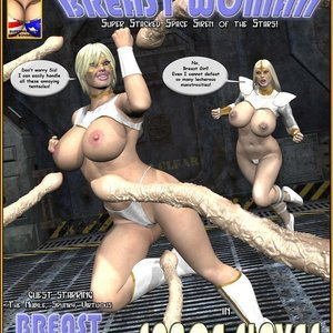 Breast Woman – Space Slaves Central Comics
