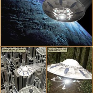 Central Comics Halloween 2014 - Alien Encounter gallery image-002
