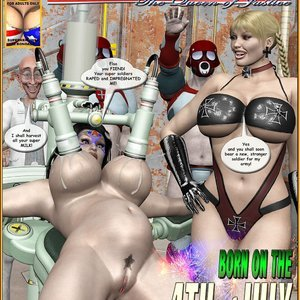 Ms. Americana – Born on the 4th of July Central Comics