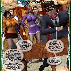 Shooby Doo – Case of the Goulish Gambler Central Comics